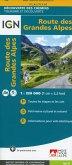 IGN Karte, Découverte des chemins, tourisme et découverte Route des Grandes Alpes
