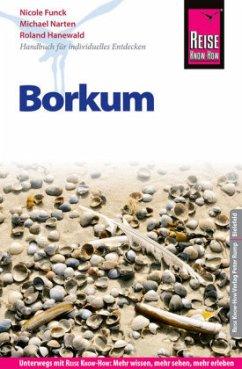 Reise Know-How Reiseführer Borkum - Funck, Nicole; Narten, Michael; Hanewald, Roland