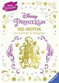 Disney Prinzessin - 100 Motive zum Ausmalen und Entspannen (Mängelexemplar)