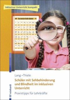 Schüler mit Sehbehinderung und Blindheit im ink...