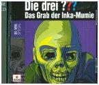 Die drei ??? - Das Grab der Inka-Mumie, 2 Audio-CDs
