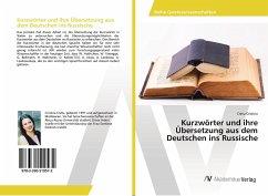 Kurzwörter und ihre Übersetzung aus dem Deutschen ins Russische - Cristina, Cretu