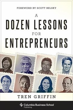 Dozen Lessons for Entrepreneurs