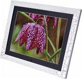 Braun DigiFrame 15 Holz schwarz/weiss 38,1 cm (15 Zoll) Bilderrahmen (1024 x 768 Pixel, 4:3 Seitenverhältnis)