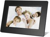 Braun DigiFrame 711 schwarz 17,8 cm (7 Zoll) Bilderrahmen (800 x 480 Pixel, 16:9 Seitenverhältnis)
