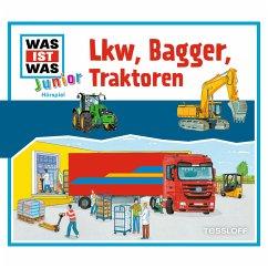 WAS IST WAS Junior Hörspiel: Lkw, Bagger, Traktoren (MP3-Download)