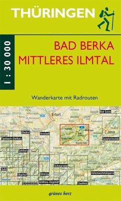 Wanderkarte Bad Berka und mittleres Ilmtal