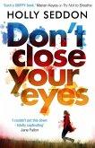 Don't Close Your Eyes (eBook, ePUB)