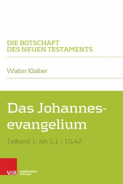 Johannesevangelium I (eBook, PDF) - Klaiber, Walter
