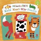 Die bunten Tiere - Mein Maxi-Mix-Puzzle (Kinderpuzzle)