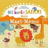 Die bunte Safari - Mein Maxi-Memo (Kinderspiel)
