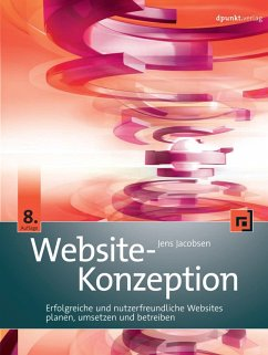 Website-Konzeption (eBook, ePUB) - Jacobsen, Jens