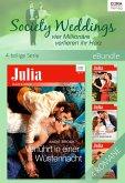 Society Weddings - vier Millionäre verlieren ihr Herz - 4-teilige Serie (eBook, ePUB)