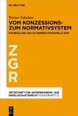 Vom Konzessions- zum Normativsystem (eBook, ePUB)