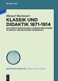 Klassik und Didaktik 1871-1914 (eBook, ePUB)