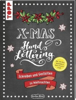 Handlettering X-Mas. Schreiben und Gestalten zu Weihnachten - Albers, Kirsten