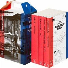 SZ Literaturkoffer Frankreich   Bücher Set   Literatur-Sammlung mit Olmi, Maupassant und Pernath   4 Taschenbücher, 4 Te - Maupassant, Guy de;Olmi, Véronique;Pernath, Christian