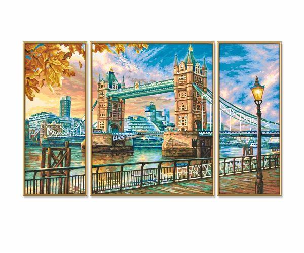 Schipper 609260752 Malen Nach Zahlen London Tower Bridge