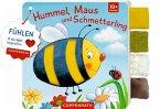 Mein Fühl-Laschenbuch: Hummel, Maus und Schmetterling