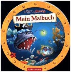 Käpt´n Sharky: Mein Malbuch