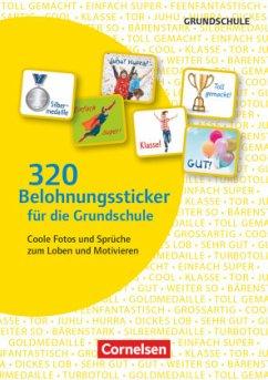 320 Belohnungssticker für die Grundschule. Sticker