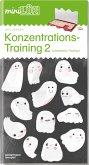 LÜK. Konzentrationstraining 2: für Vor- und Grundschulkinder / concentration training - ab 1. Klasse