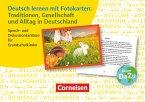 Traditionen, Gesellschaft und Alltag in Deutschland. 72 Karten