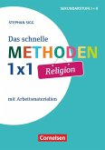 Das schnelle Methoden-1x1 Religion. Mit Arbeitsmaterialien