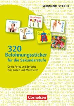 320 Belohnungssticker für die Sekundarstufe. Sticker
