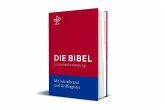Bibel mit Schreibrand (Roter Einband)