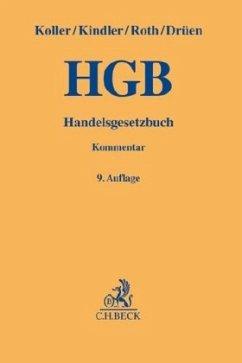 Handelsgesetzbuch - Koller, Ingo;Kindler, Peter;Roth, Wulf-Henning