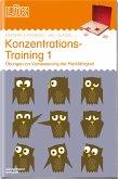 LÜK. KKonzentrationstraining 1: Übungen zur Verbesserung der Merkfähigkeit