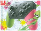 Nintendo Switch Pro Controller-Splatoon 2-Edition