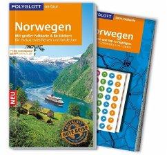 POLYGLOTT on tour Reiseführer Norwegen (Mängele...