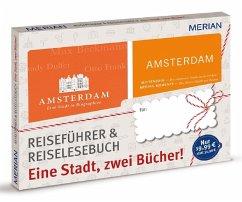 MERIAN Amsterdam: eine Stadt, zwei Bücher (Mängelexemplar)