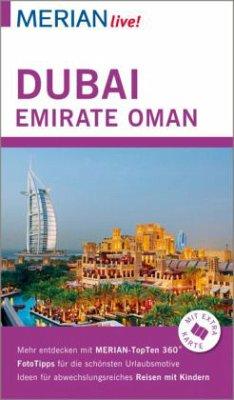 MERIAN live! Reiseführer Dubai, Emirate, Oman (...