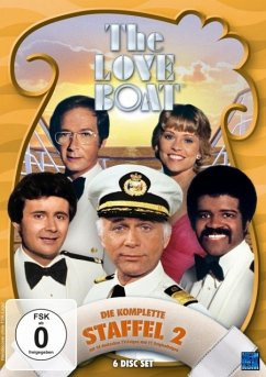 The Love Boat - Die komplette Staffel 2 (6 Discs)