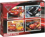 Disney Pixar Cars 3 (Kinderpuzzle) 4in1 Puzzle Pack