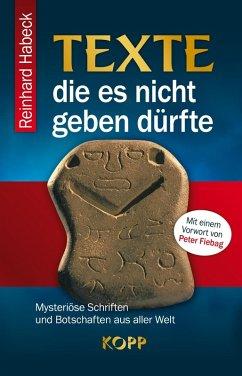 Texte, die es nicht geben dürfte (eBook, ePUB) - Habeck, Reinhard