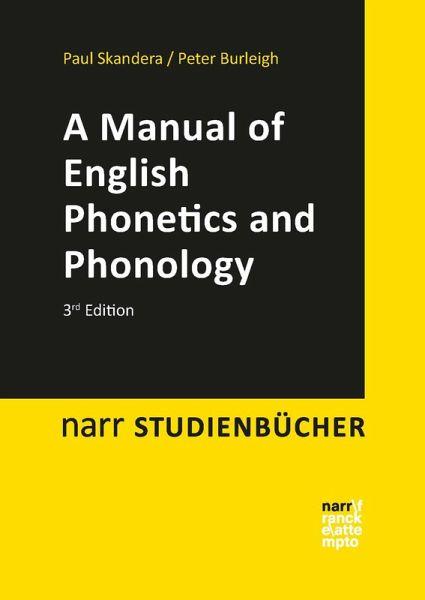 Ebook English Phonetics And Phonology