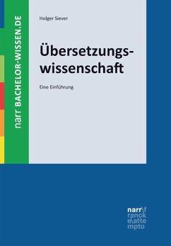Übersetzungswissenschaft (eBook, PDF) - Siever, Holger