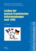 Lexikon der deutsch-französischen Kulturbeziehungen nach 1945 (eBook, PDF)