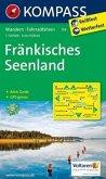 Kompass Karte Fränkisches Seenland
