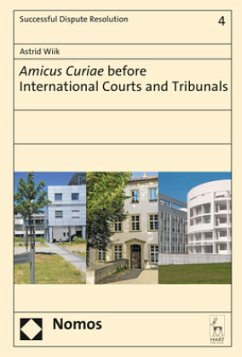 Amicus Curiae before International Courts and T...
