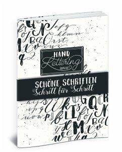 Handlettering Übungsheft - Haas, Katja