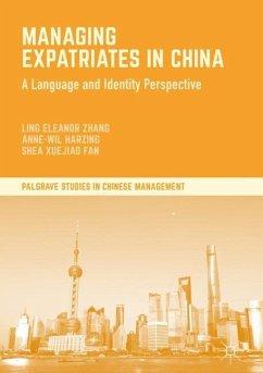 Managing Expatriates in China