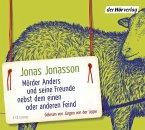 Mörder Anders und seine Freunde nebst dem einen oder anderen Feind, 6 Audio-CDs (Mängelexemplar)