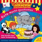 Benjamin Blümchen - Gute-Nacht-Geschichten - Das Schoko-Fest beim Tortenkönig (MP3-Download)