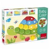 Goula D53142 - Baby Color, Lernspiel, Steckspiel