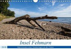 Insel Fehmarn - Impressionen eines Sommertages an der Ostsee (Wandkalender 2018 DIN A4 quer) Dieser erfolgreiche Kalender wurde dieses Jahr mit gleichen Bildern und aktualisiertem Kalendarium wiederveröffentlicht.